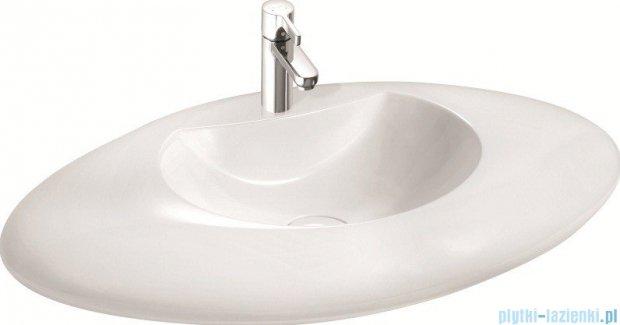 Marmorin umywalka nablatowa Lavinia bez otworu biała 120089020010