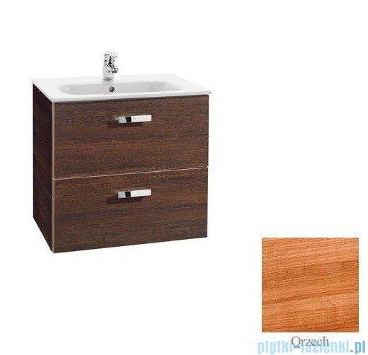 Roca Victoria Basic Zestaw łazienkowy Unik umywalka z szafką 60cm orzech A855884222