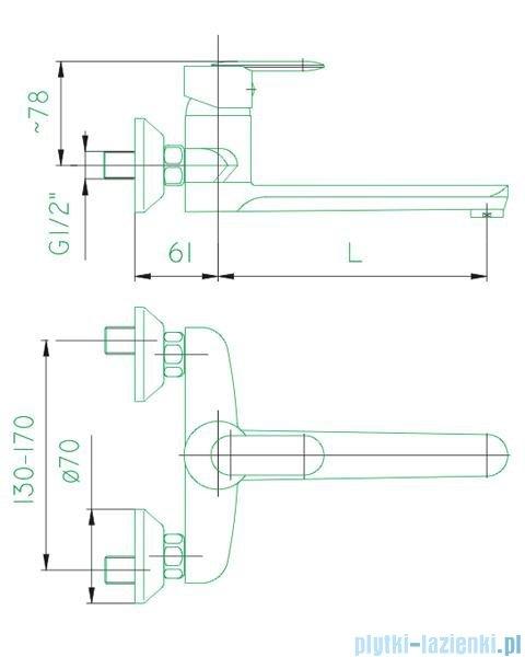 KFA CYRKON bateria umywalkowo-zlewozmywakowa, kolor chrom 580-810-00
