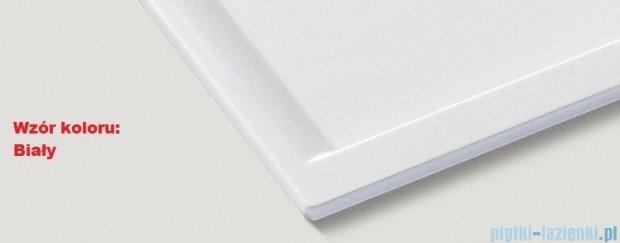Blanco Zenar XL 6 S  Zlewozmywak Silgranit PuraDur komora prawa kolor: biały z kor. aut. i szklaną deską do krojenia 519275