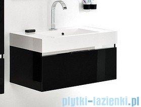 Antado Cantare szafka z umywalką 80x50x33 czarny połysk FSM-342/8GT-48/48 + UNA-800