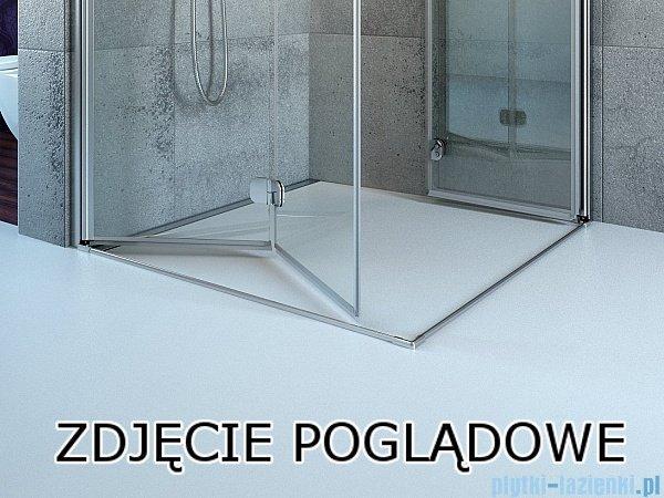 Radaway Arta Kdj I kabina 90x80cm lewa szkło przejrzyste 386082-03-01L/386020-03-01