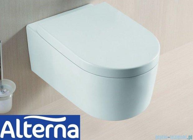 Alterna Vivo Miska wisząca WC z deską wolnoopadającą 550x360x345 mm ALTN-124476