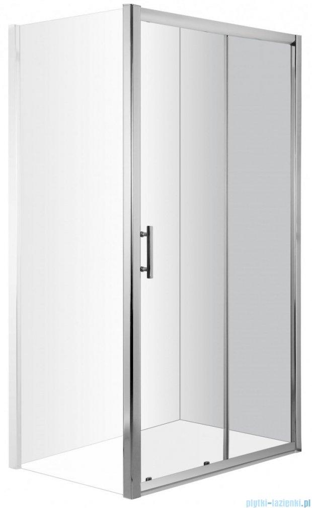 Deante Cynia drzwi wnękowe przesuwne 100x195 cm przejrzyste KTC 010P