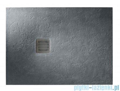 Roca Terran 100x70cm brodzik prostokątny konglomeratowy ciemnoszary AP013E82BC01200