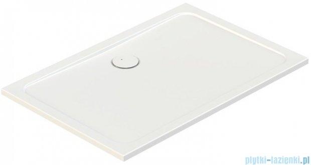 Sanplast Free Line brodzik prostokątny B/FREE 80x90x2,5 cm + stelaż 615-040-4350-01-000