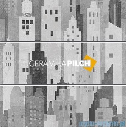 Pilch City 1 dekor ścienny 3-elementowy 60x60