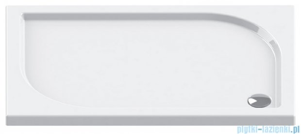 New Trendy Ideo brodzik prostokątny na podstawie styropianowej 100x80x5 B-0322