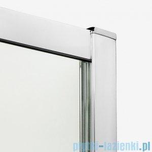New Trendy New Maxima kabina asymetryczna 120x85x165cm grafit K-0297