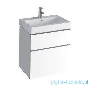 Keramag Icon Szafka wisząca pod umywalkowa 59,5cm biały połysk 840360
