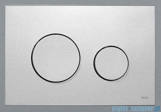 Tece Przycisk spłukujący z tworzywa-do WC Teceloop chrom matowy 9.240.625