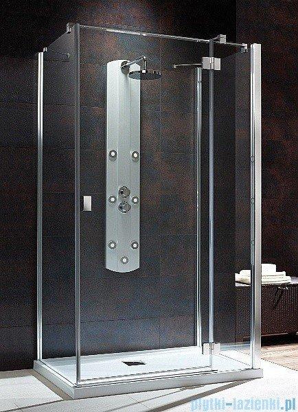 Radaway Kabina prysznicowa Essenza KDJ+S 90x120x90 prawa szkło przejrzyste + brodzik Doros D + syfon 32943-01-01R