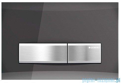 Geberit Sigma 50 przycisk spłukujący szkło dymione/chrom szczotkowany 115.788.SD.5