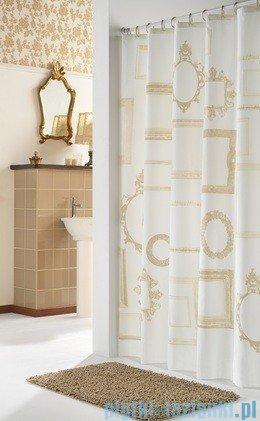 Sealskin Kader beż zasłona prysznicowa tekstylna 180x200cm 233001360