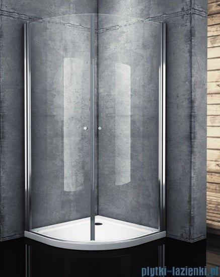 Atrium Verona kabina półokrągła 90x90x195 cm szkło: przejrzyste QF092