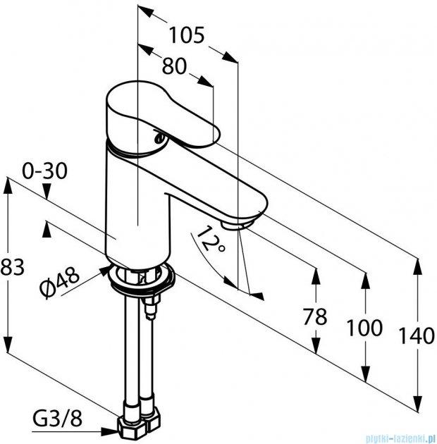 Kludi Objekta Jednouchwytowa bateria umywalkowa DN 10 chrom 321260575