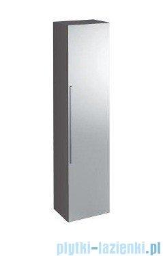 Keramag Icon Szafka wisząca boczna wysoka z lustrem 150cm platynowy połysk 840152