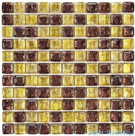 Dunin Fat Cube mozaika szklana 30x30 model amber mix 25