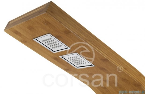 Corsan Bao panel natryskowy z mieszaczem drewno bambusowe B-022 BAO