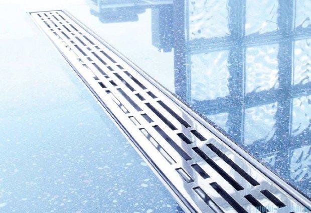 Tece Ruszt prosty Basic ze stali nierdzewnej Tecedrainline 70 cm stal szczotkowana 6.007.11