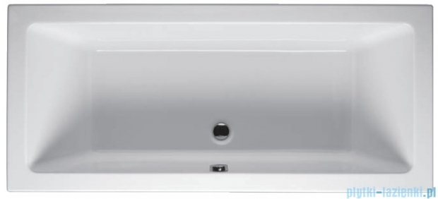 Riho Lusso Wanna prostokątna 180x80 z hydromasażem Hit Hydro 6+4+2/Aero11 BA98H3