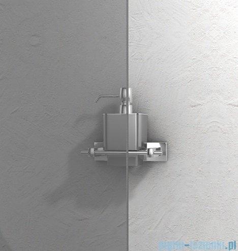 New Trendy Varia 90x80x190 cm kabina prostokątna grafit K-0391