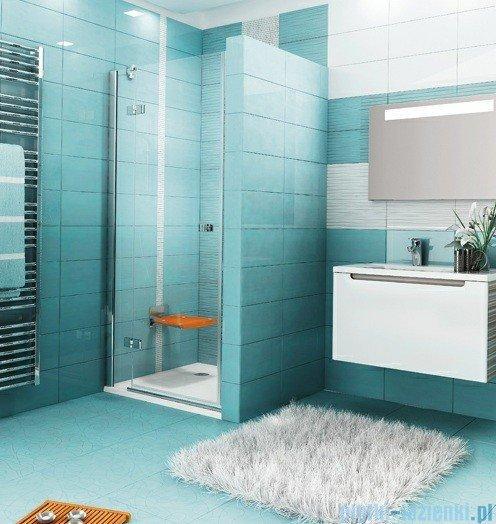 Ravak Drzwi prysznicowe SmartLine SMSD2-110 A lewe chrom+transparent 0SLDAA00Z1