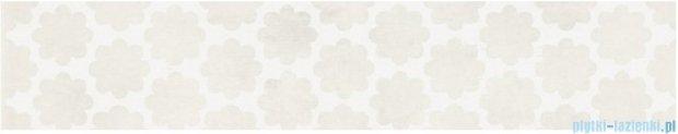 Kwadro Stacatto bianco listwa 4,8x33,3