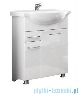 Antado Prima szafka z umywalką 61x30,4x80 biały połysk BFM-140/6 + UCG-65