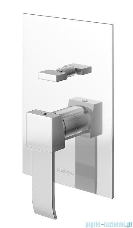 Kohlman Axis zestaw prysznicowy chrom QW210NQ30
