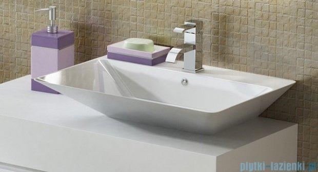 Antado Combi szafka lewa z blatem prawym i umywalką Libra biały ALT-141/45-L-WS+ALT-B/3R-1000x450x150-WS+UCS-TC-66