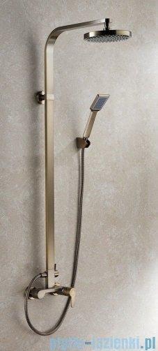 Blue Water Gala zestaw kabinowo-prysznicowy stare złoto GAL-ZKPN.400-ORN