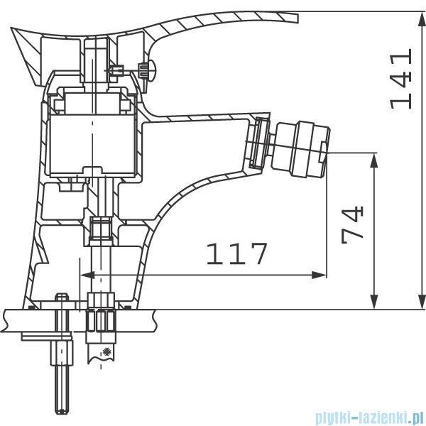 Ferro Bateria PADWA bidetowa BTP6