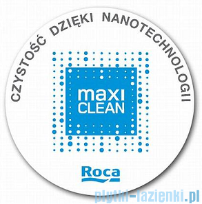 Roca Meridian-N Compacto Umywalka półblatowa 55x42cm powłoka Maxi Clean A32724S00M