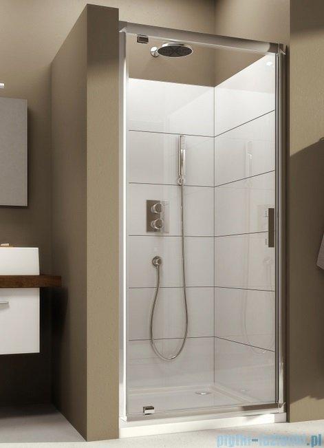 Aquaform Verra Line drzwi uchylne do wnęki 80cm przejrzyste 103-09323