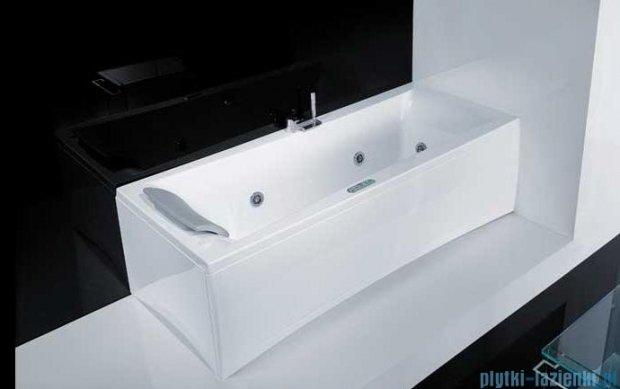 Novellini Elysium Wanna Y 190x80 z hydromasażem wodnym PRAWA Y519080RD0-A3K