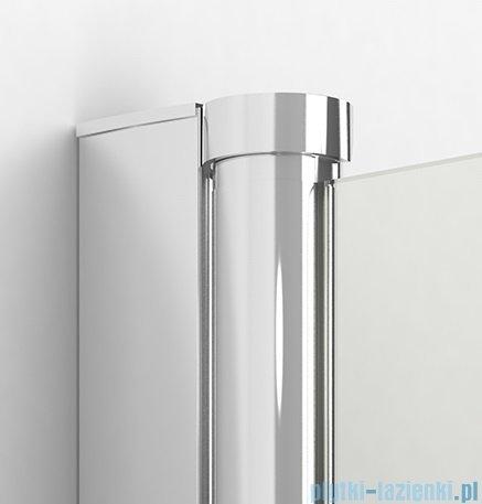 New Trendy New Soleo Plus drzwi wnękowe bifold 130x195 cm przejrzyste lewe D-0150A/D-0094B