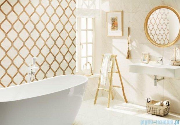 Tubądzin Larda white dekor ścienny 29,8x74,8