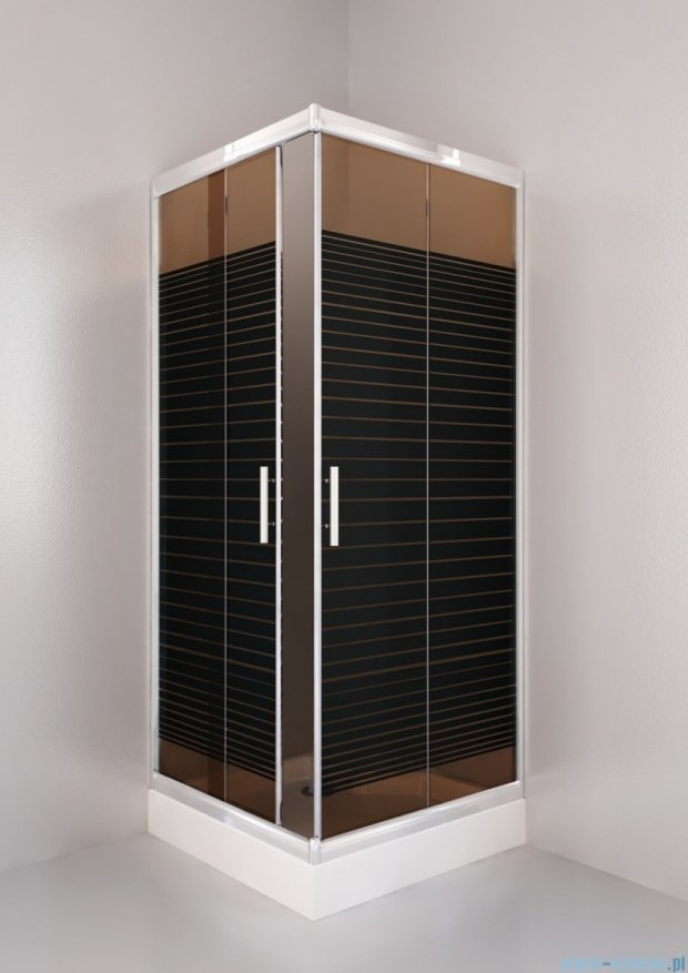 Sea Horse Sigma kabina natryskowa narożna kwadratowa, 90x90, szkło: A2,   BK002/3/QB/A2