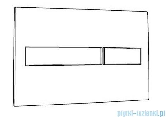 Roca PL2 Przycisk Dual Combi 3/6L biały/chrom mat A890096005