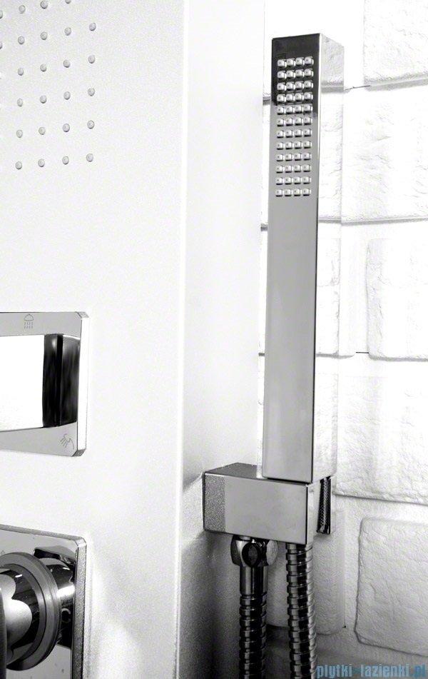Rea panel natryskowy aluminiowy z mieszaczem biały 9750Biały