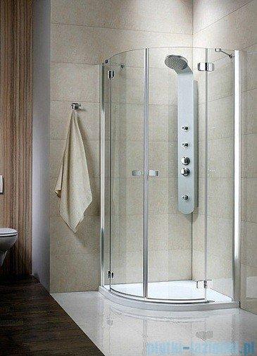 Kabina Radaway prysznicowa Fuenta PDD 90x90 szkło przejrzyste 381001-01N