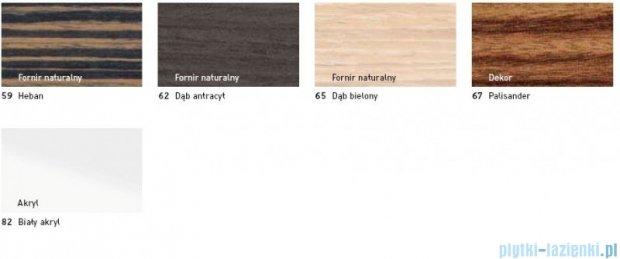 Duravit 2nd floor obudowa meblowa do wanny #700081 wolnostojąca dąb bielony 2F 8773 65