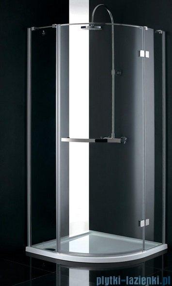 Atrium Capri kabina półokrągła 90x90x195 cm szkło: przejrzyste QF0309