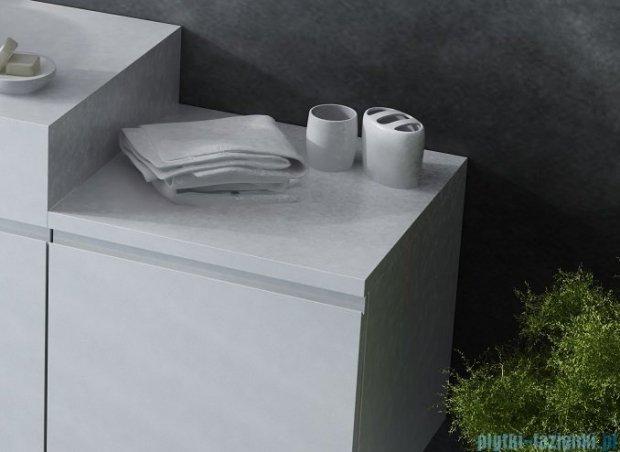 Antado Combi szafka dolna lewa 45x45x40 biała/jasne drewno ALT-141/45-L-WS/dn