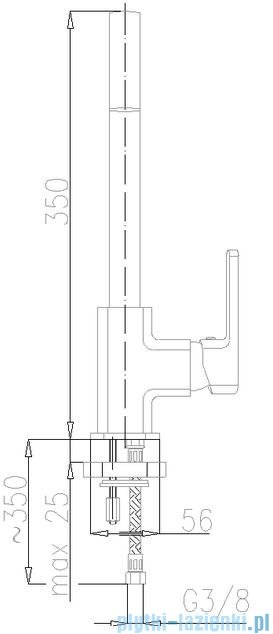 KFA Korund bateria zlewozmywakowa, kolor chrom 4003-915-00