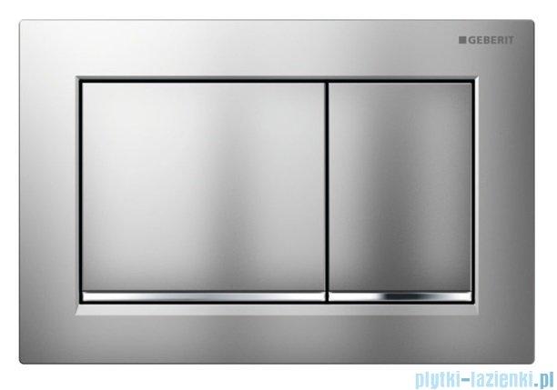 Geberit Omega30 przycisk spłukujący chrom błyszczący/matowy/błyszczący 115.080.KH.1