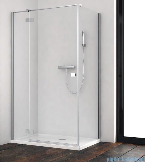 Radaway Essenza New Kdj kabina 80x110cm lewa szkło przejrzyste 385043-01-01L/384053-01-01
