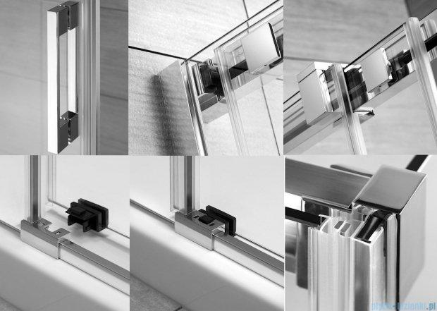 Radaway Espera KDJ Mirror kabina prysznicowa 100x90 prawa szkło przejrzyste 380130-71R/380149-01L