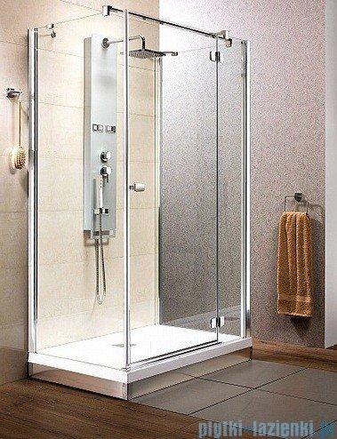 Radaway Kabina prysznicowa Fuenta KDJ+S 80x100x80 prawa szkło przejrzyste 381033-01R1 / 381033-01R2